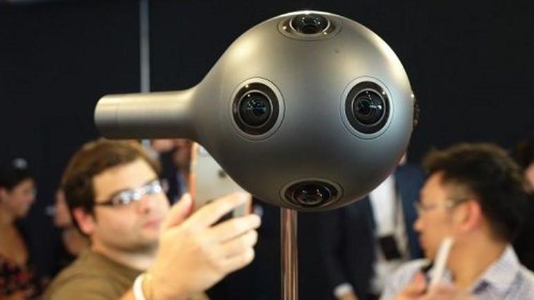 Nokia'nın VR kamerası OZO 60 bin dolardan sipariş almaya başladı