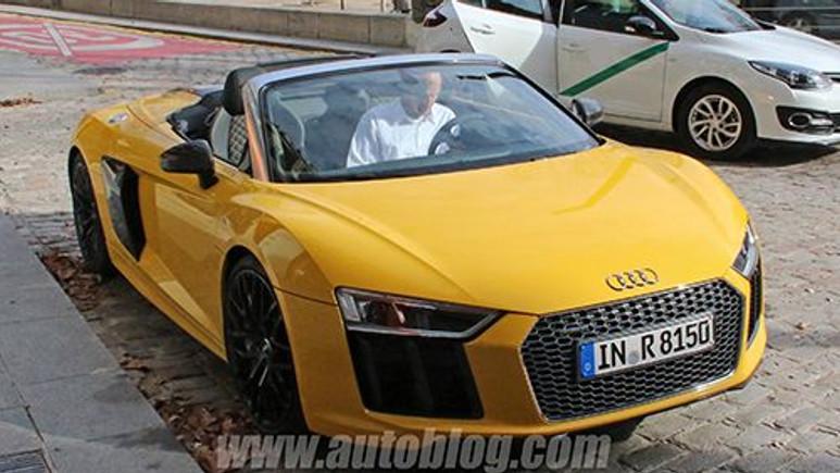 Yeni Audi R8 Spyder Görüntülendi