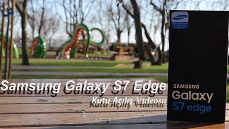 Samsung Galaxy S7 Edge Kutu Açılış Videosu