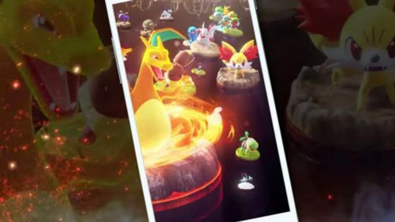 Pokémon'dan yeni bir mobil oyun geliyor!