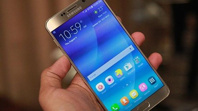 Galaxy Note 5 için yeni bir güncelleme yayınlandı
