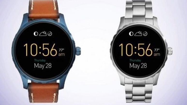 Fossil'den Android Wear tabanlı akıllı saatler