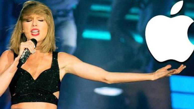 Apple Music'in reklam yüzü Taylor Swift oldu