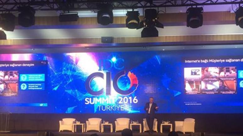 IDC Türkiye CIO Zirvesi Başladı