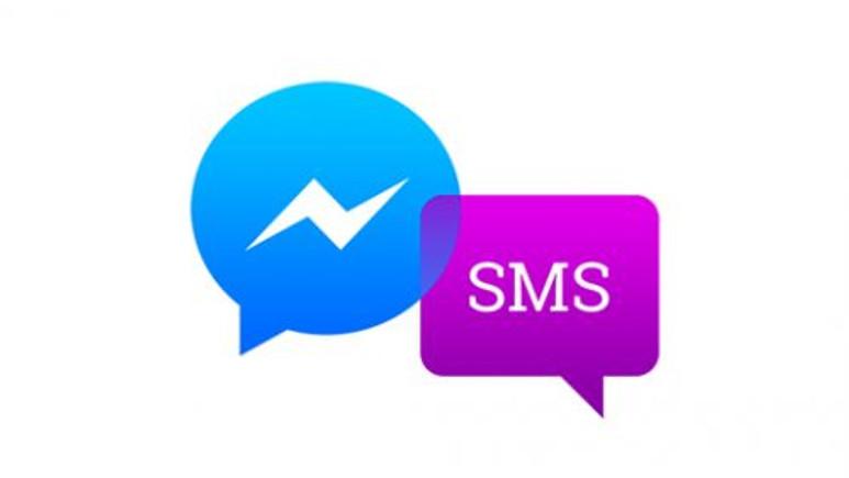 Facebook Messenger'a SMS geldi!