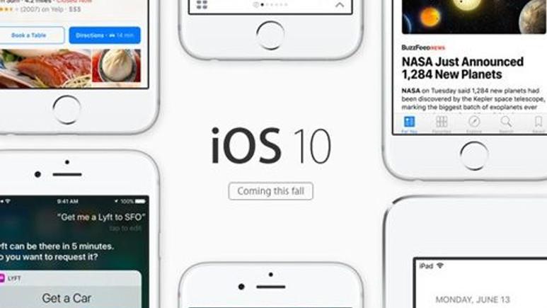 iOS 10 çıktığında iPhone nasıl değişecek?