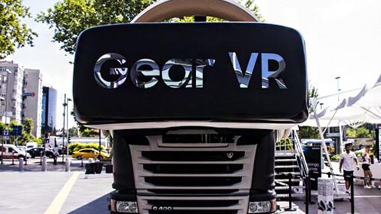 Samsung Sanal Gerçeklik Tırı İstanbul'da