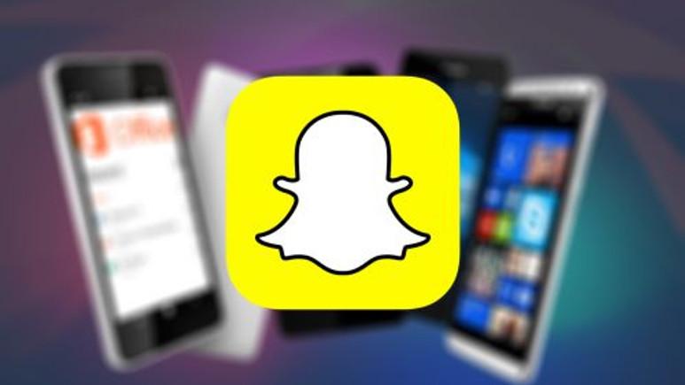 Windows Phone kullanıcıları için müjde: Snapchat sonunda geliyor!