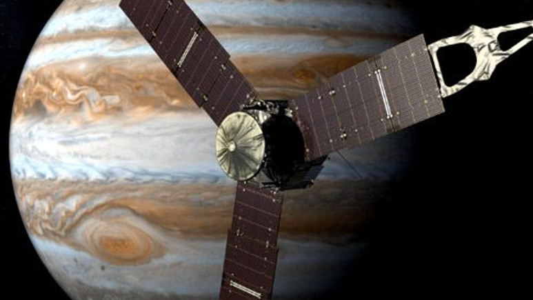 Juno, Jüpiter'in yörüngesine girmeye hazırlanıyor