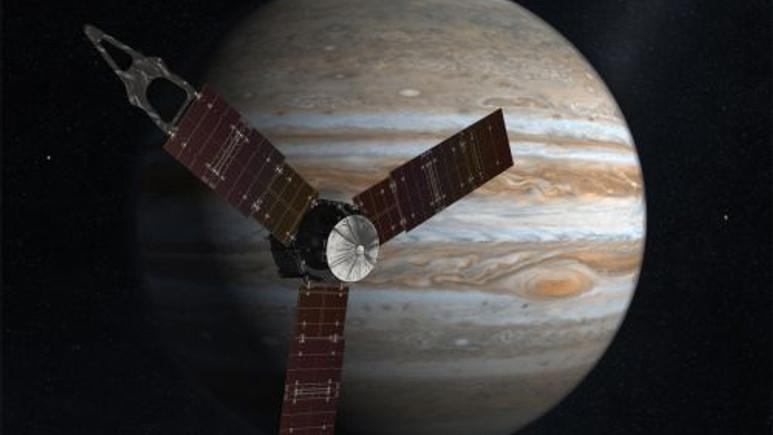 NASA'nın uzay aracı Juno'nun Jüpiter'den yolladığı sesler
