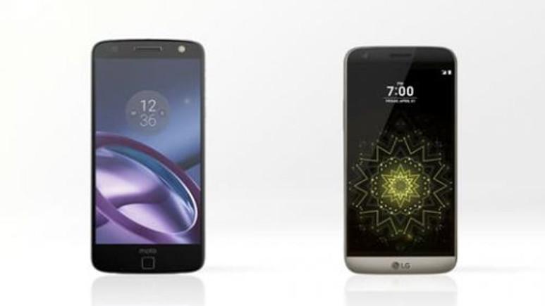 LG G5 ve Motorola Moto Z rakamlarla karşılaştırma!