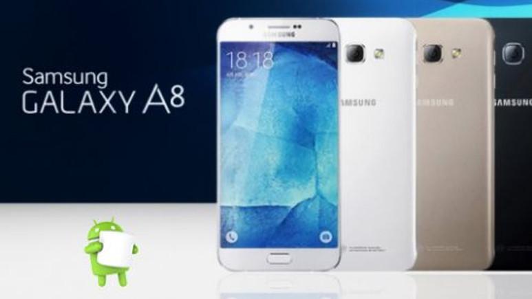 Samsung Galaxy A8 için Android Marshmallow güncellemesi geldi