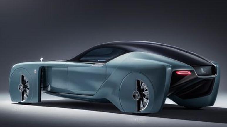 Rolls-Royce'dan şaşırtan model