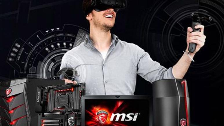 MSI VR Boost Kit ile Sanal Gerçeklik daha kolay