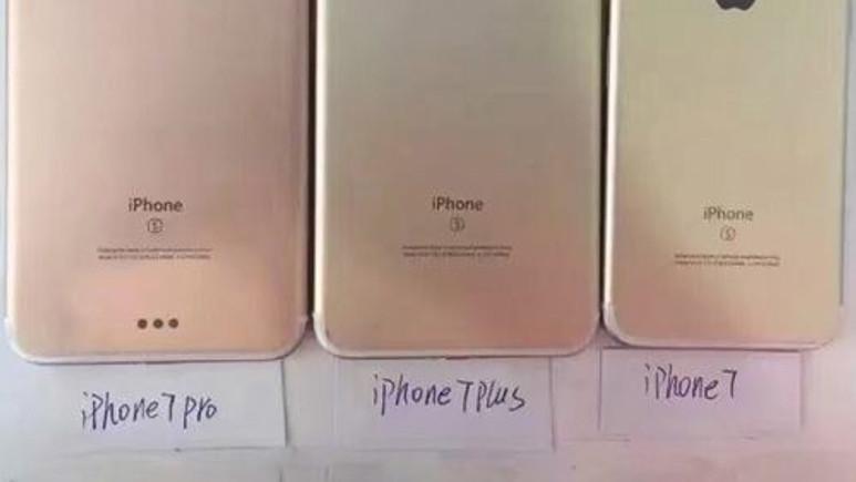 İşte iPhone 7, iPhone 7 Plus ve iPhone 7 Pro!