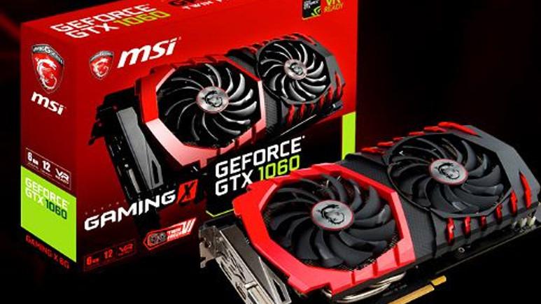 MSI, Özel Tasarım GeForce GTX 1060 Ekran kartlarını duyurdu.