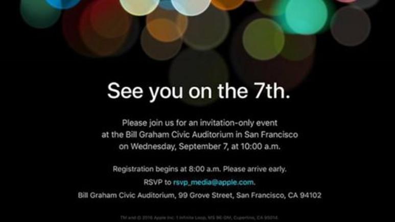 iPhone 7 lansmanında neler olup bittiğini bu başlık altında takip edin!