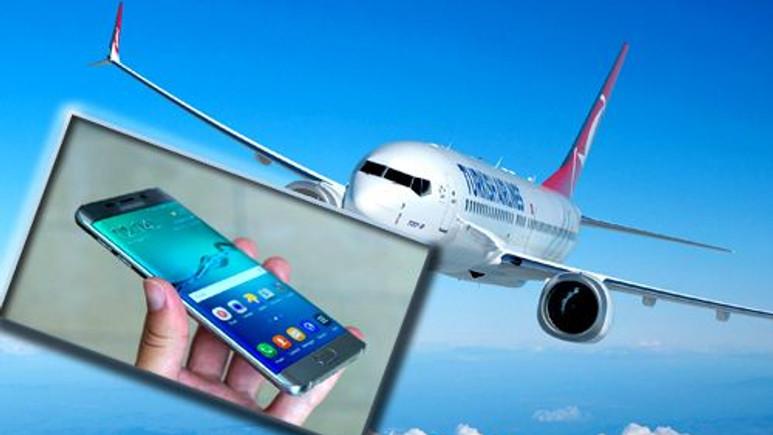 THY'den Samsung Galaxy Note 7 uyarısı