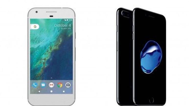 Google Pixel ve iPhone 7 pil ömrü karşılaştırması