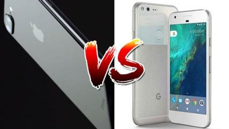 Google Pixel XL ve iPhone 7 Plus pil ömrü karşılaştırması