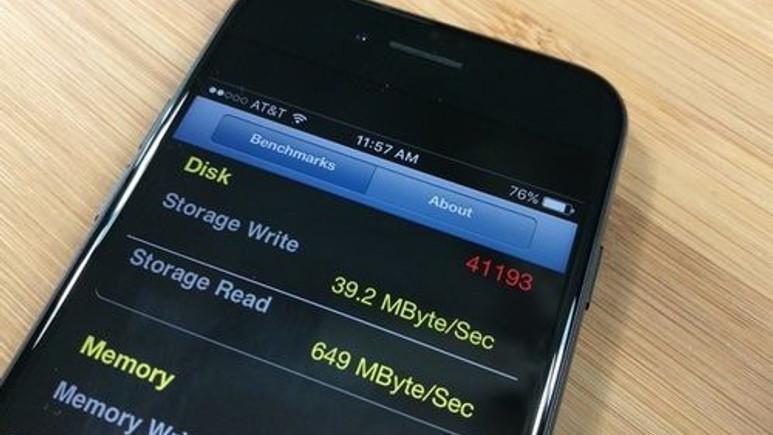 iPhone 7'nin depolama birimi yavaş mı?