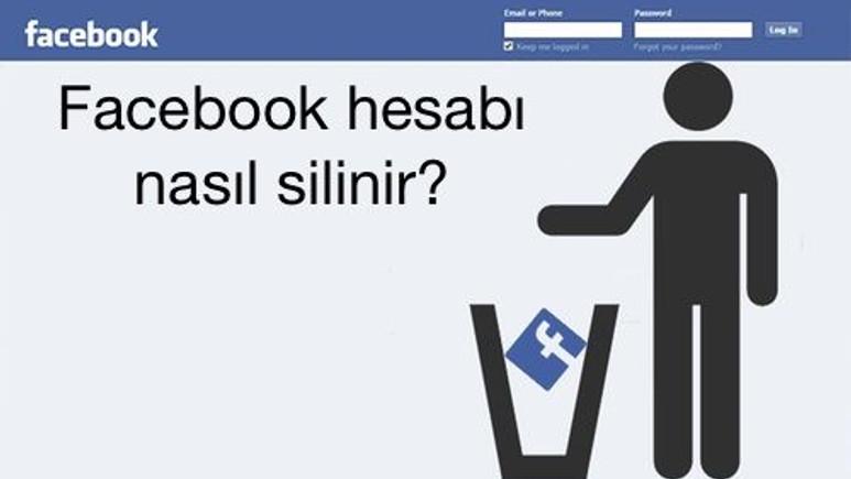 Facebook hesap silme işlemi nasıl yapılır?