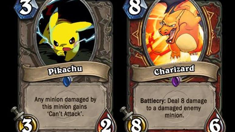 İlk 151 Pokémon, Hearthstone kartı oldu!