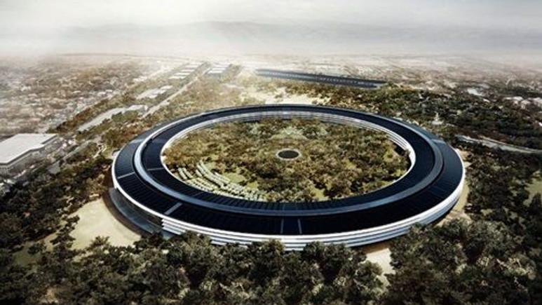 Apple'ın dev kampüsü!