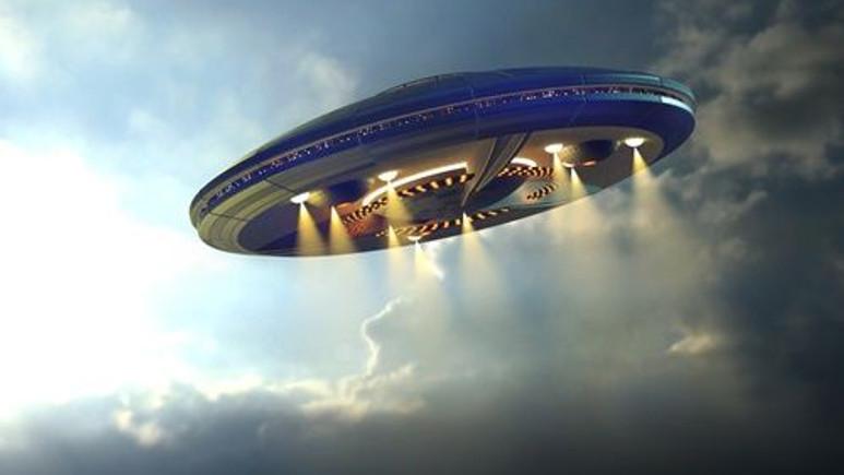 Fransa'da UFO göründü!