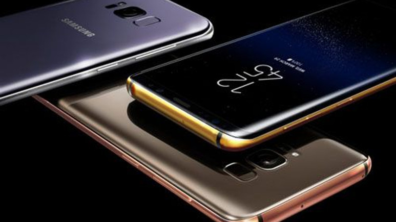 İşte Galaxy S8+'ın gül altın rengi!
