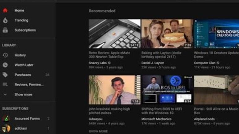 YouTube'da gizli siyah tema nasıl aktif edilir? (Rehber)