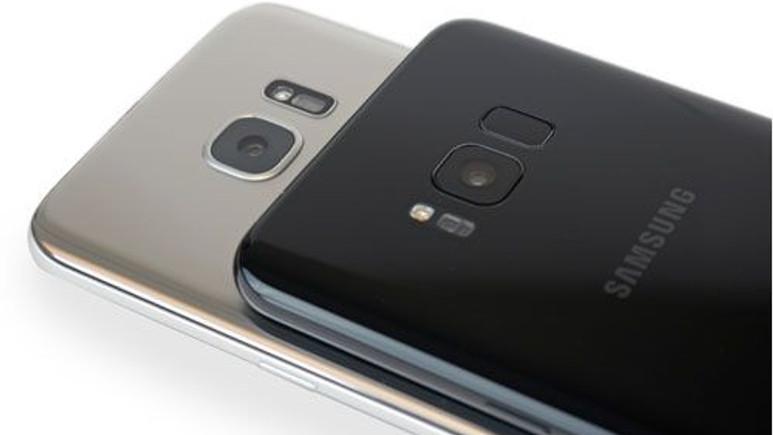 Galaxy S8 ve Galaxy S8+ parçalara ayrıldı