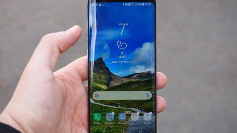 Galaxy S8'in arayüzü güncellendi!