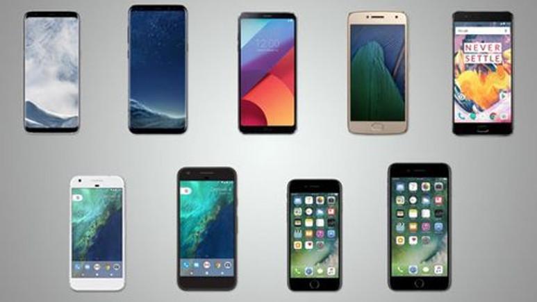 2017'nin en iyi akıllı telefonları karşı karşıya!