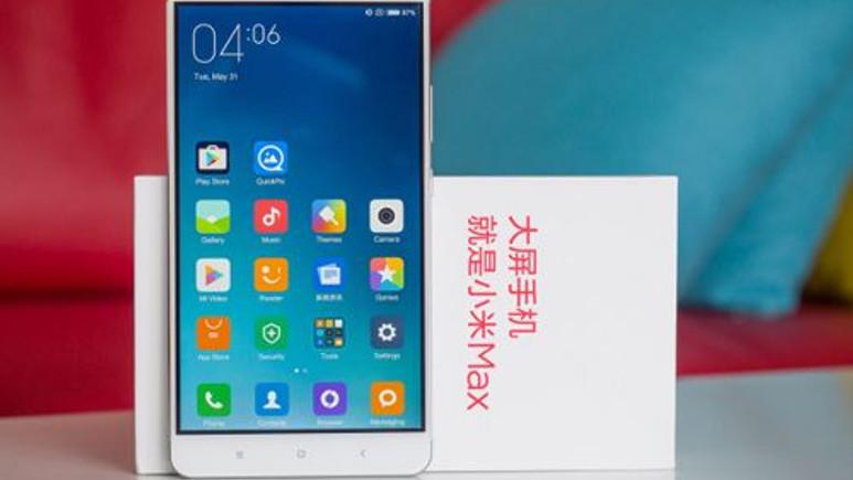 Xiaomi'nin yeni canavarı 5.000mAh pil ile Mi Max 2!