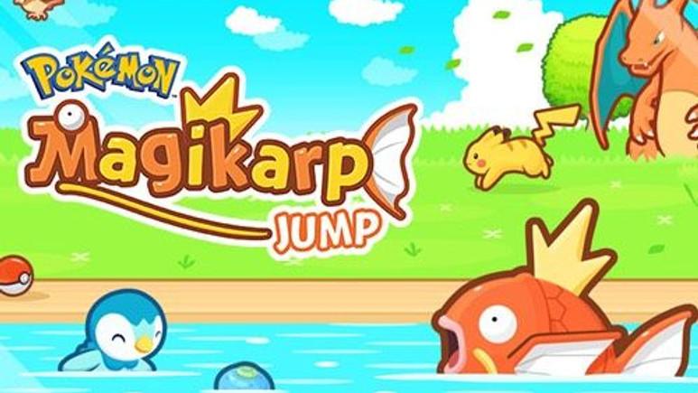 Android ve iOS'e yeni Pokémon oyunu Magikarp Jump geldi