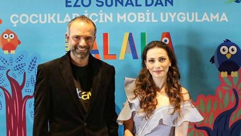 Ezo Sunal'dan çocuklara özel uygulama!