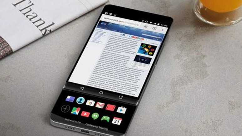 İşte LG V30'un en net tasarımı!