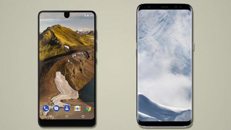 Yıla damgasını vuran Essential Phone, Galaxy S8'e karşı!