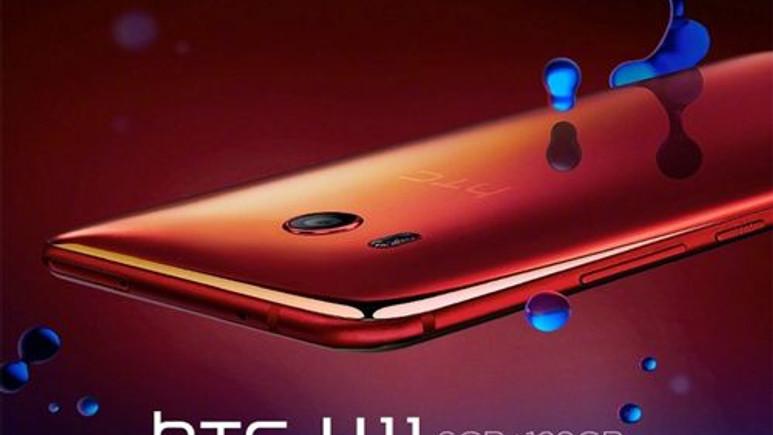 Kırmızı ve Beyaz HTC U11 açıklandı