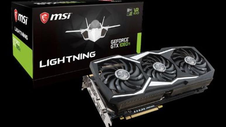 MSI, GTX 1080 TI Lightning Z tanıtıldı!