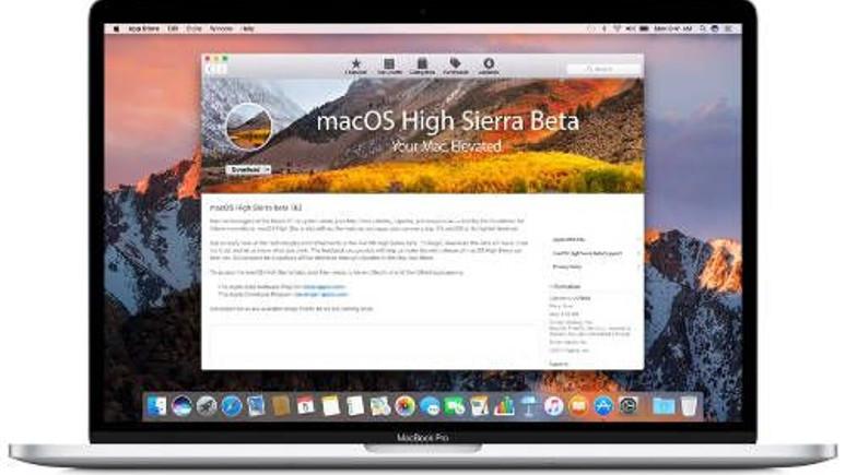macOS High Sierra Public Beta yayınlandı