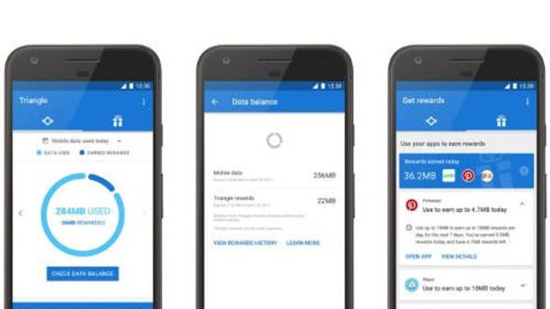 Google, Android'de Triangle ile veri tüketimini azaltıyor!