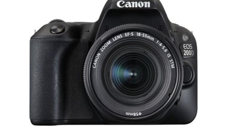 Canon'un yeni fotoğraf makinesi Canon EOS 200D tanıtıldı