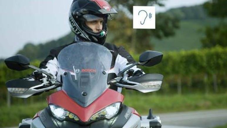 Bosch, motosiklet kazalarını engelleyecek!
