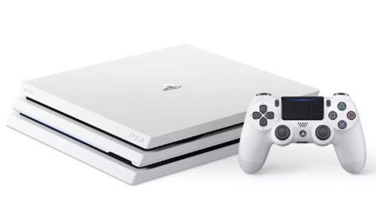 Beyaz PlayStation 4 Pro ön siparişe sunuldu!