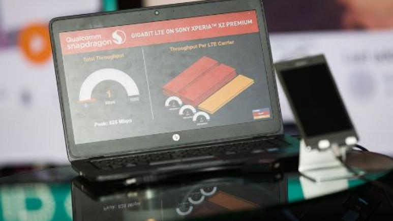 Avrupa'nın ilk Gigabit LTE donanımlı cihazı tanıtıldı!