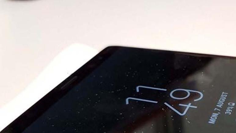 Galaxy Note 8 canlı görüntülendi