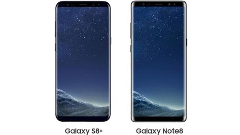 Galaxy Note 8 ve Galaxy S8+ karşılaştırma