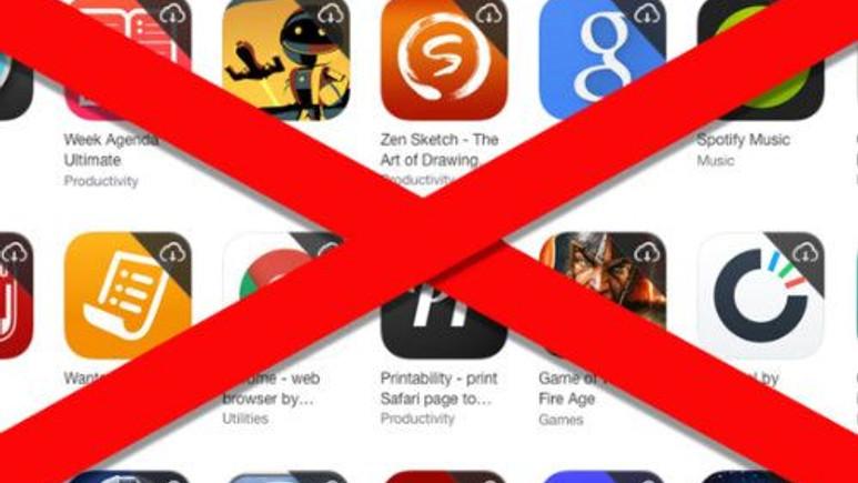 Apple, bu uygulamaları yeni iOS sürümünde kullanmak için kaldırdı!